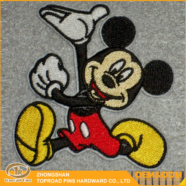Promotional Custom Lovely Cute Cartoon Embroidery Patches