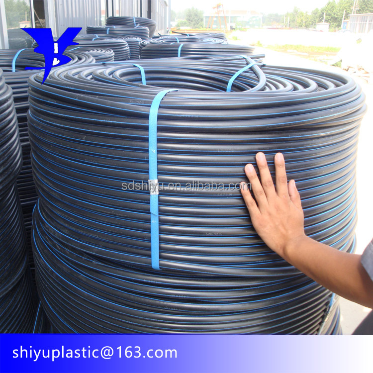 16mm 20mm 25mm 32mm PE100 ISO BS EN 4427 12201 HDPE Coil Pipe For Water Supply and Irrigation