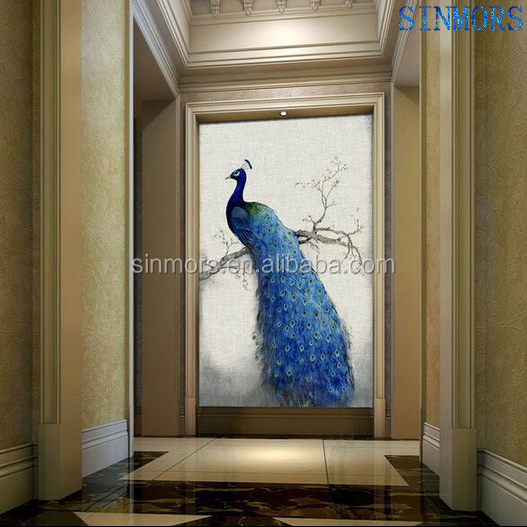 New Fashion Peacock Spirit Cross Stitch Embroidery Canvas Oil Painting Home Decor 5D DIY Crystal Diamond Painting Kit By Numbers