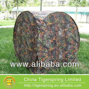 Waterproof camo hunting blind tent