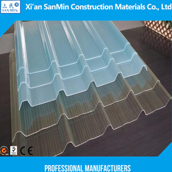 Fiberglass Skylight Roof Panel Transparent Frp Roofing