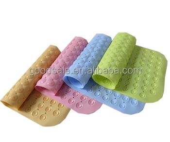 New Style Pvc Bath Mat Kids Non-slip Shower Mat Baby Shower Mat With ...