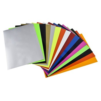 Free Sample Custom Adhesive PVC vinyl sheets