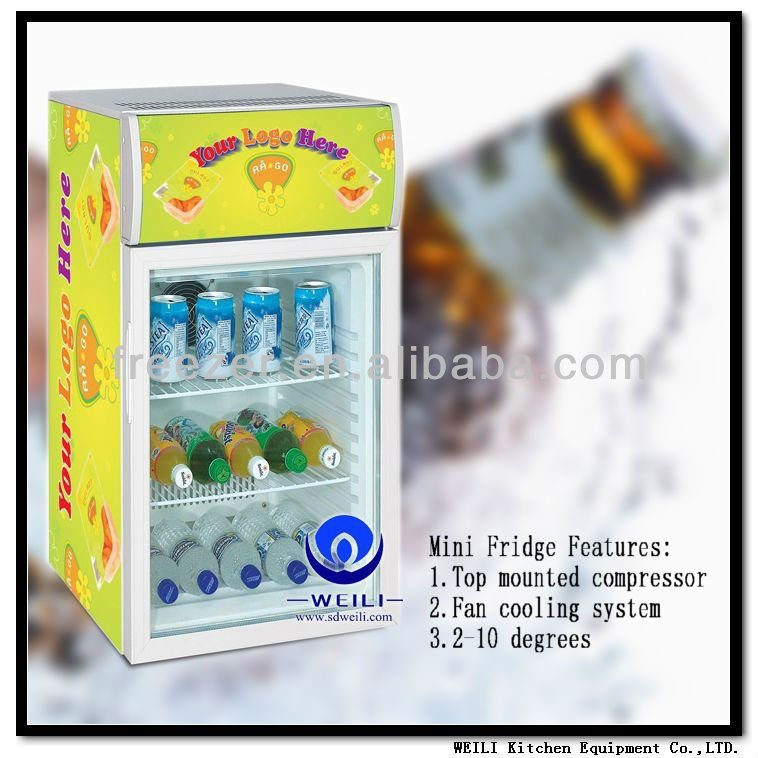 Small Removable Outside 50L bar refrigerator for Cold Drinks promotion with CE, ROHS