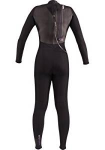 Hyperflex Women's Cyclone2 - 5/4mm GBS Full Wetsuit - BK - W14