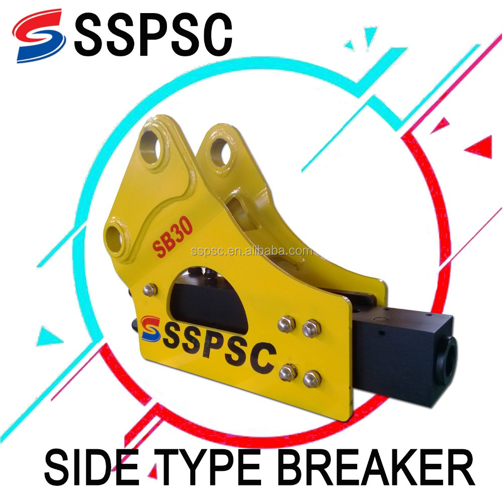 CE approved mini excavator used hydraulic rock breaker for sale from China manufacturer