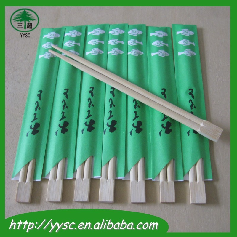 Custom Printed Disposable Bamboo Chopsticks For Sushi