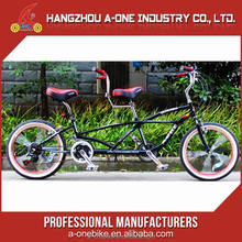 2017 Top High Quality 4 Person Surrey Quad Tandem Bike For Sale