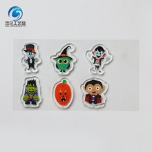 Hot Sale Cute <span class=keywords><strong>Halloween</strong></span> Warna-warni Jendela Dekoratif LED Gel <span class=keywords><strong>Stiker</strong></span>