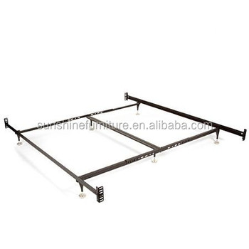 Modern Stainless Steel Metal Bed Cheap Adjustable Bed Frame