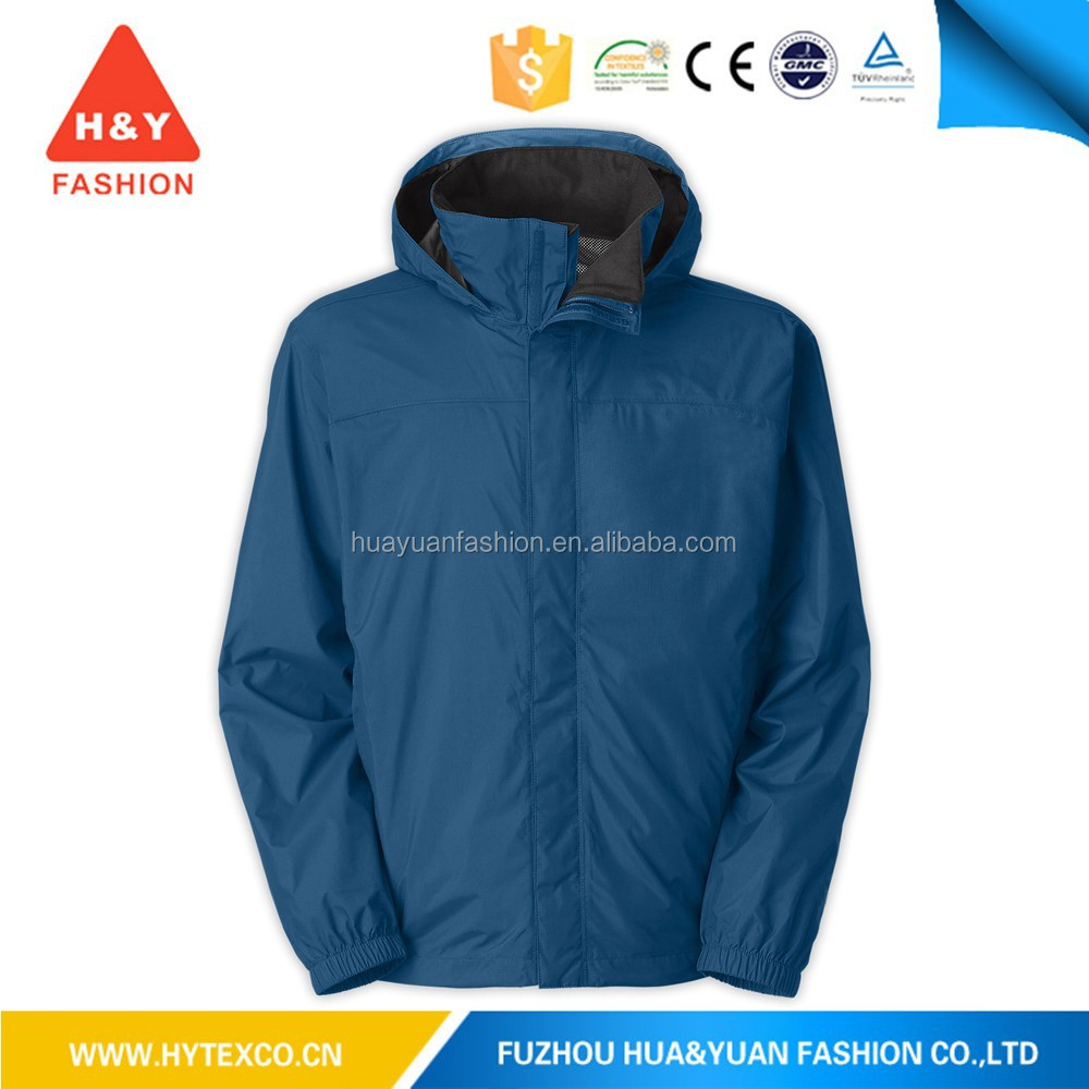 Promotion Foldaway waterproof Nylon Rain jacket waterproof polyester windbreaker jacket--7 years alibaba experience