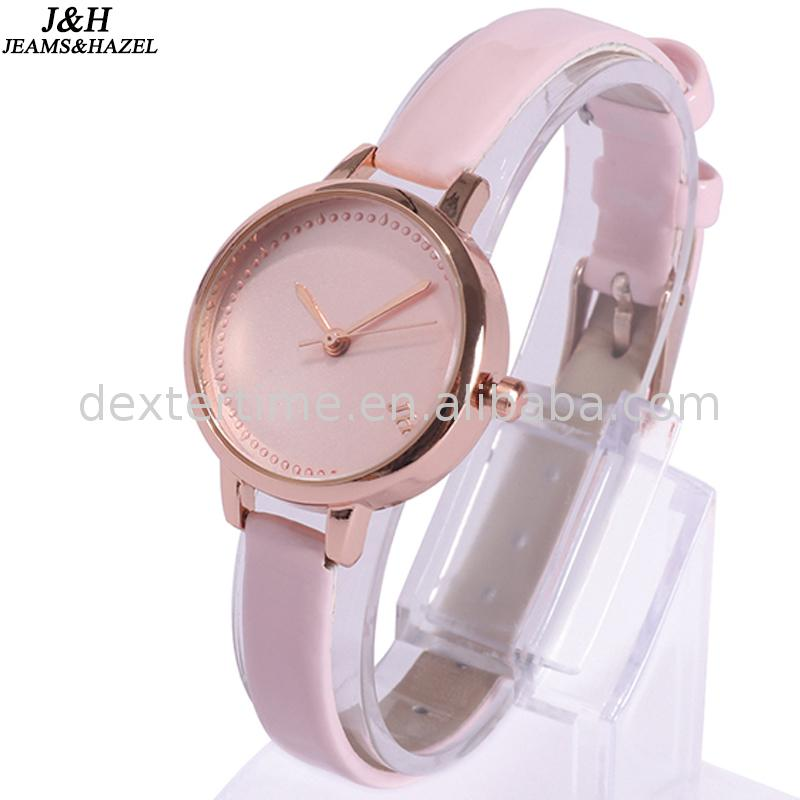 New design girls stainless steel watches with long life