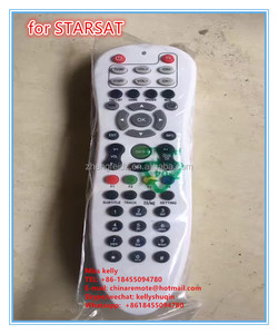 47 keys 47 buttons F1 F2 F3 F4 satellite receiver remote control for  STARSAT with learning function