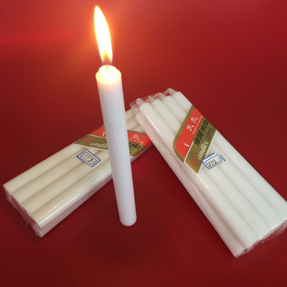 Utility White Household Candles 0086-15530118693 - Buy