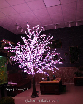 Whole Color Changing Led Cherry Blossom Tree Light For Wedding Event Decoration Outdoor Lights