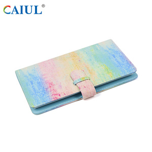Caiul Classical PU leather book bound with memo record 96PCS photo albums for instax Mini film