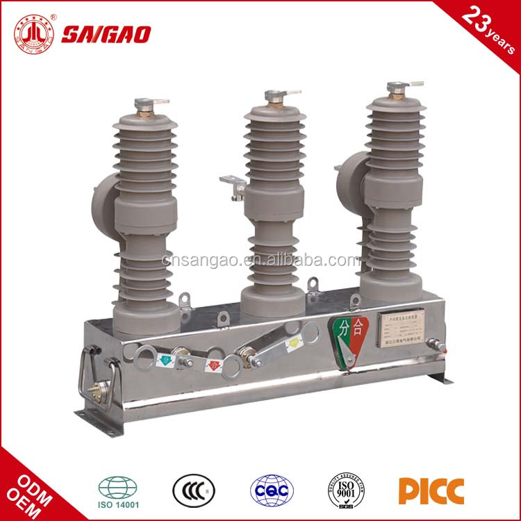 ZW32 24KV Outdoor High Voltage Vacuum Circuit Breaker Recloser (VCB)