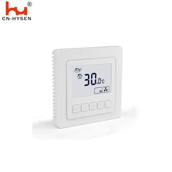 Hysen EU Digital HVAC on/off Lcd Thermostat for Fan Coil Units
