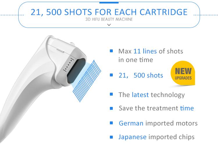 トップ販売月に 1-11 ライン高速処理 3d hifu 医療 ce