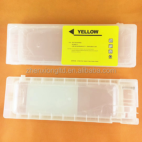 Refillable Cartridge 700ml For Epson Surecolor P6080 P7080 P8080 P9090 (Chinese Version)