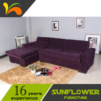 Adjustable Sectional Sofa Bed With Reversible Chaise And Storage Purple  Subde