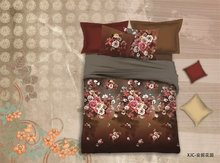 flores y jardines impreso d sistema del lechoduvet cover set