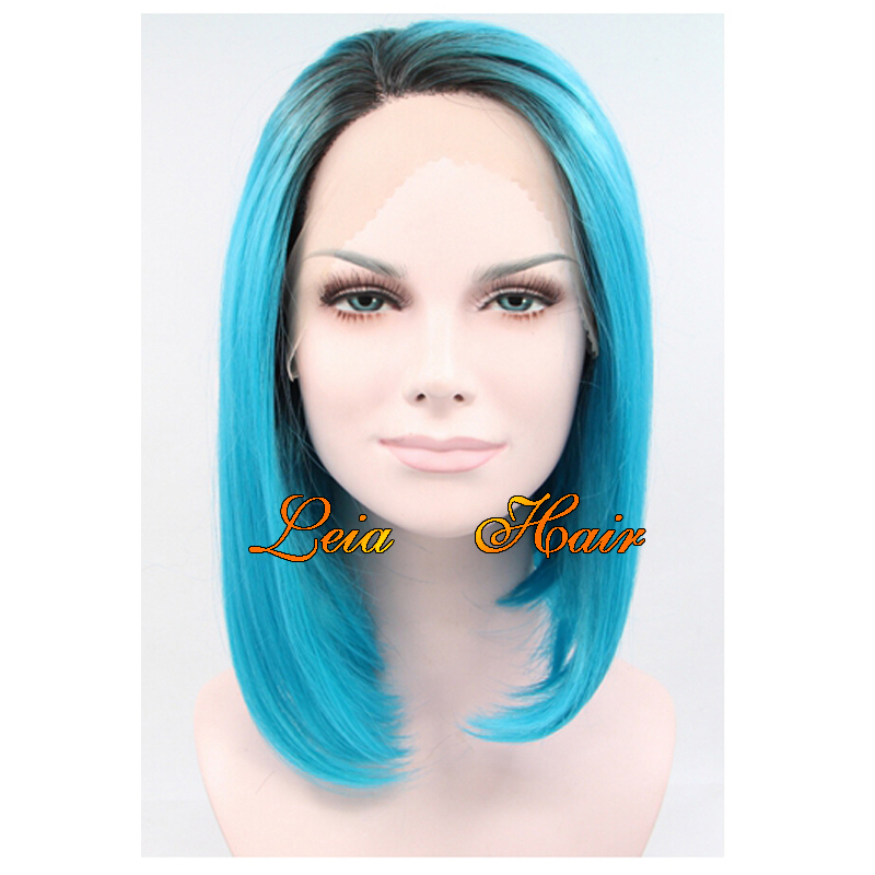 Buy Seragaki Aoba Long Straight Blue Synthetic Kanekalon Hair