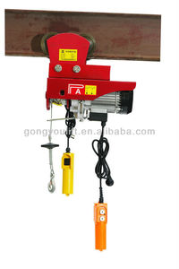 HOT SALE mini electric hoist with trolley hoist machine for construction high quality with CE & GS certificate