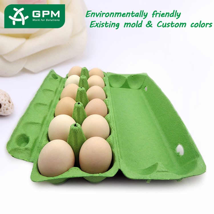 Eco friendly biodegradable paper egg tray price buy egg for How to make paper egg trays