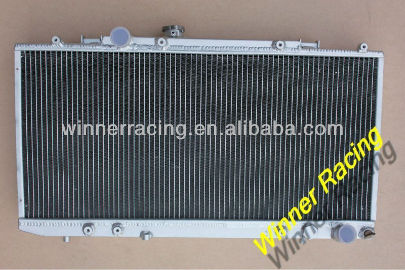 ALUMINUM RADIATOR FOR TOYOTA CELICA GT-4/FOUR ST185 3S-GTE TURBO ALL-TRAC 1989-1992