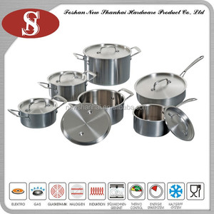 3Ply german style luxury cookware