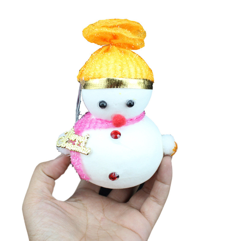 New arrival christmas decoration snowman ornament christmas tree baubles