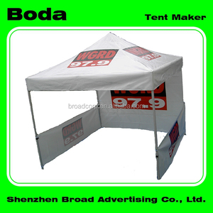 10'x10' strong side walls steel frame folding tents