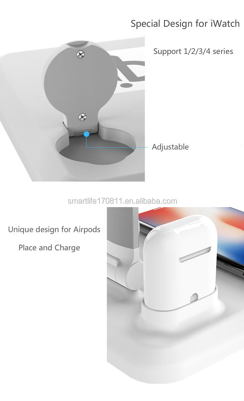 30 W Katlanır dokunmatik led göz koruma masa lambası Qi Kablosuz şarj led masa lambası Karartma USB portu Ile