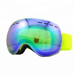 Custom brand Snow Goggles Double UV400 anti-fog Skiing Glasses Men Women Winter Sports Goggles Ski Snowboard Goggles