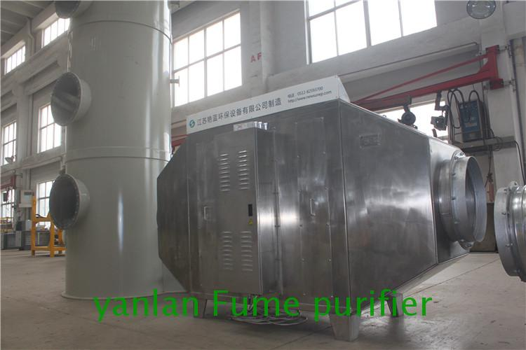 Unique design industrial unprocessed gas purifier equipment for flex banner production line
