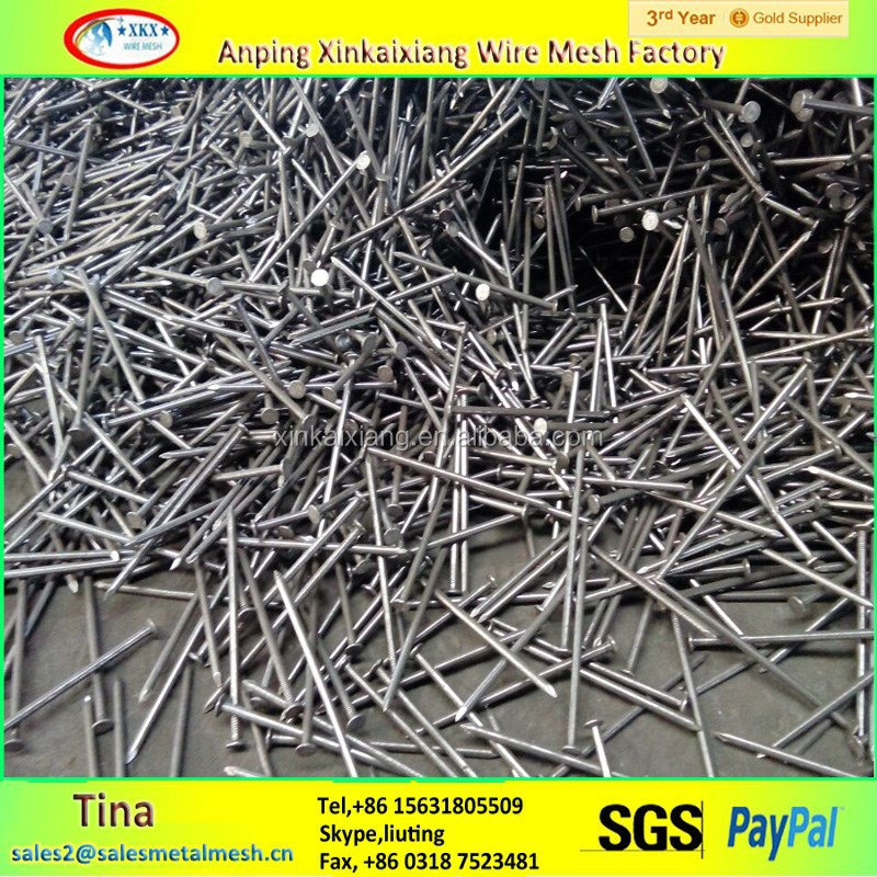 Polished Nails ,Harden 8'' hot diped galvanized common nails price