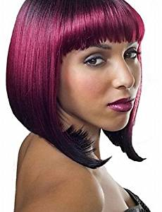 Wigs have an attractive convenience fashion New Arrival Mix Color Short Straight Bob Hair Wigs for Daily Natural Sexy Capless Synthetic Wig Party Wigs Cosplay wig