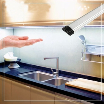 Modular Kitchen Cabinets Slim Lamps With Hand Waving Sensor Ultra Thin Led Under Cabinet Lights