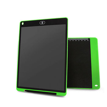 Qualified eco-friendly paperless ewriter 12 inch lcd writing board+memo board lcd writing tablet memory for gifts