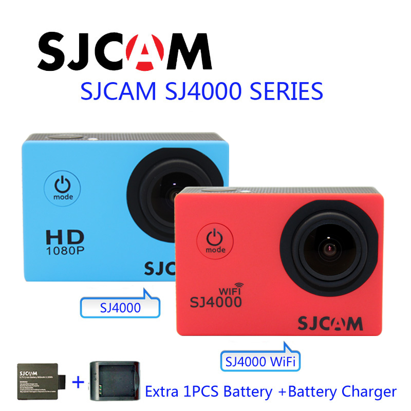 Free Shipping!!Original SJ4000 WiFi  SJCAM Diving 30M Waterproof Sport Action