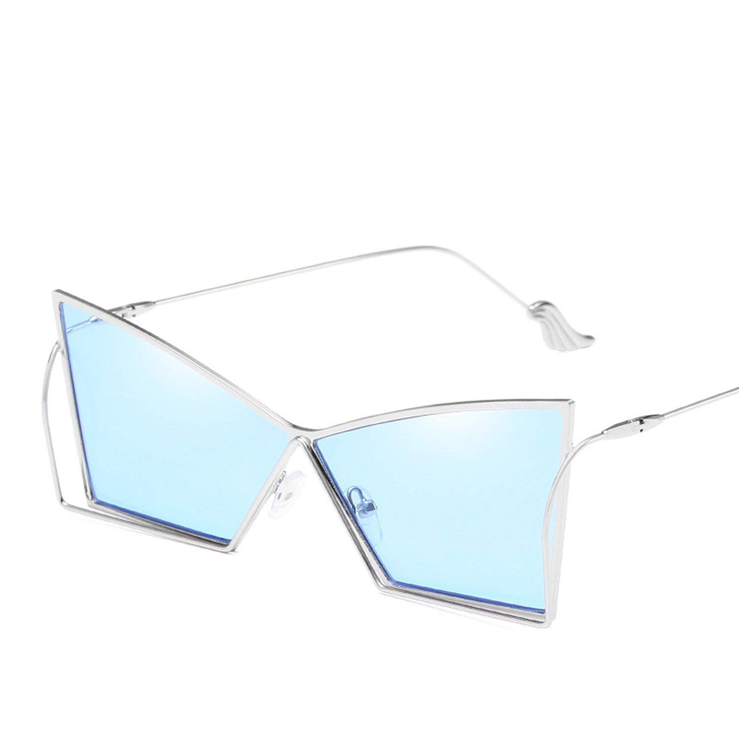 6fcccbc00fd Get Quotations · New irregular quadrilateral frame sunglasses mirror unisex  sunglasses