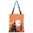 Durable Custom Halloween Holiday Treat Or Trick Bucket Candy Gift Storage Eco Canvas Bag