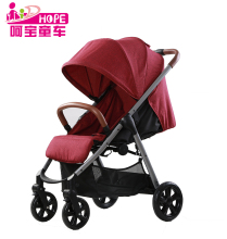 Quick fold baby pram stroller 3 in 1 with carrycot and carseat