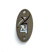 Personalized Custom Logo Stamping Furniture Stainless Steel Metal Tag