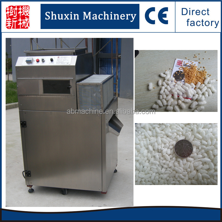 Best Quality puffed snack rice wheat puffing machine cereal cake corn machine prices