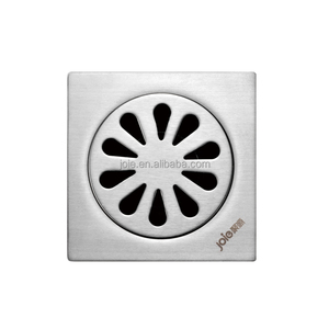 High-grade bathroom polish cast iron floor drain