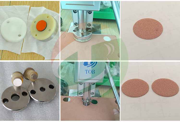 Portable Coin Cell Electrode Punching Machine