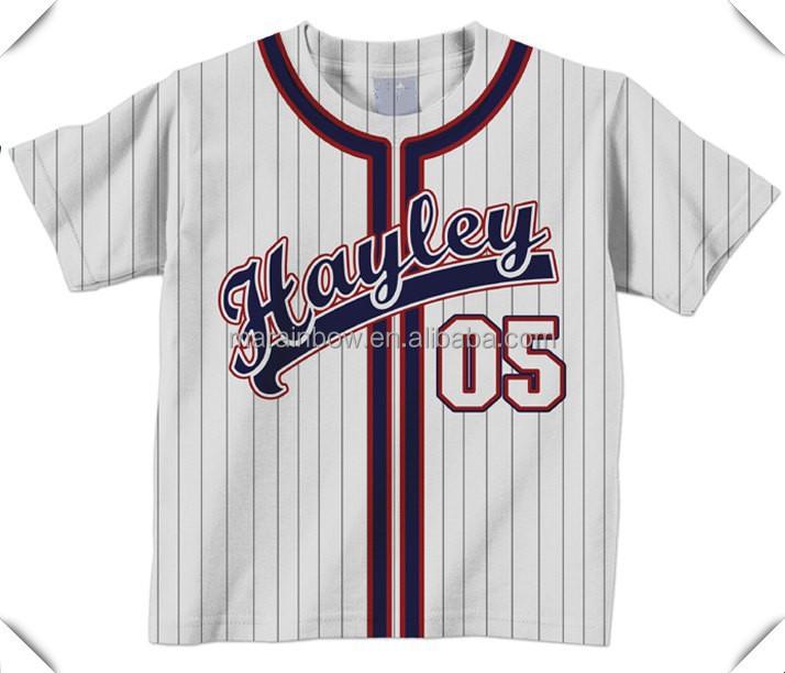 Personalizada camiseta de b isbol camisa personalizada for Hawks t shirt jersey