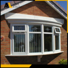 Aohlong window manufacturer PVC bow windows and awning window